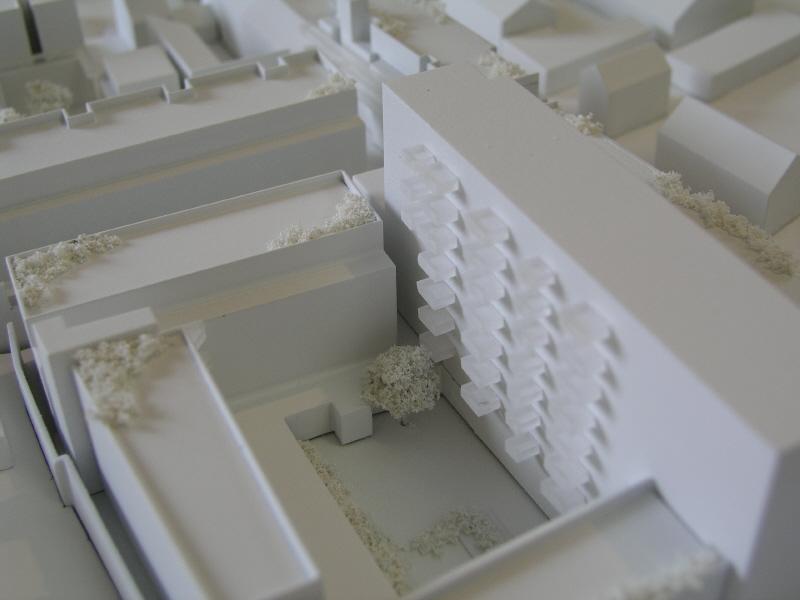 500 Scale White Model