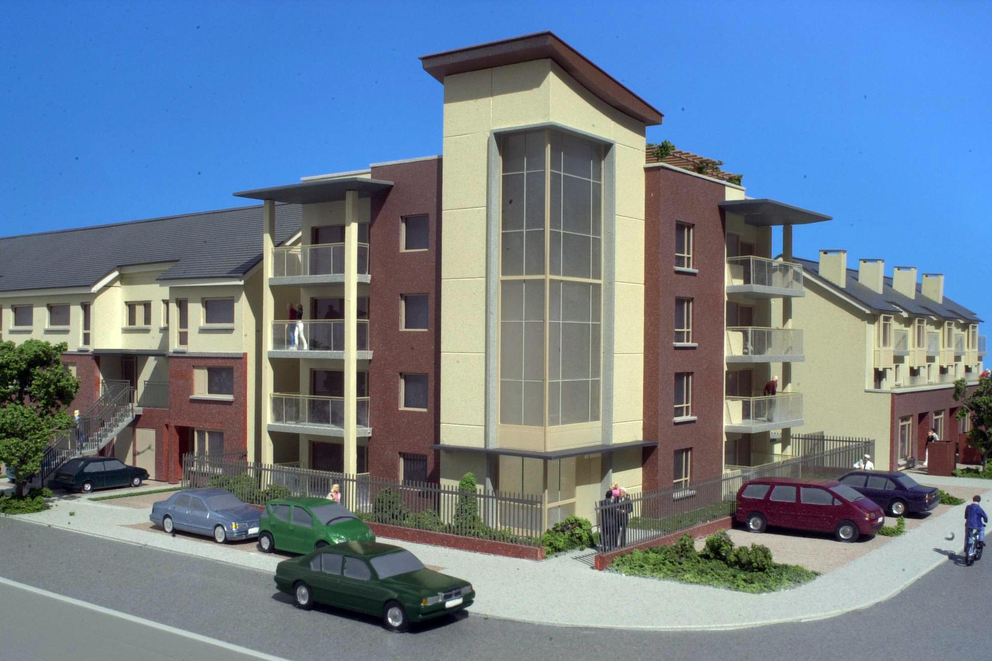 Apartment Development 100 Scale Detail Model