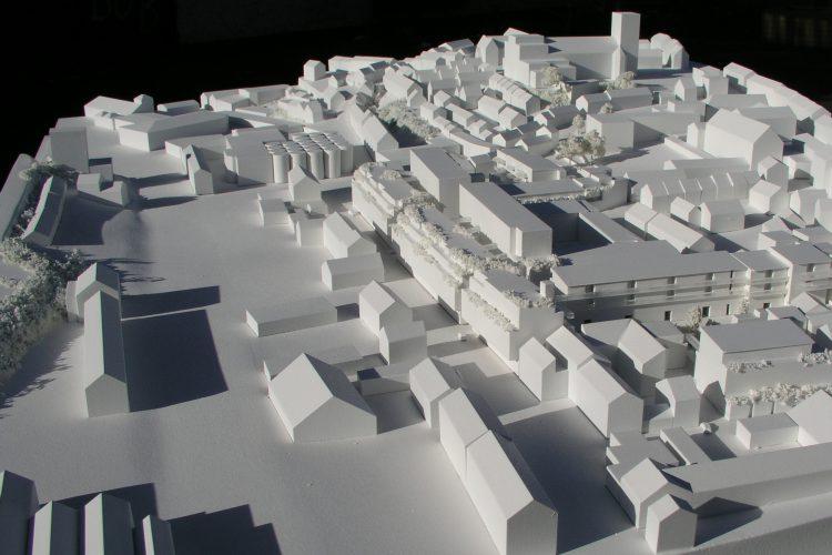 500 Scale Cork City Model