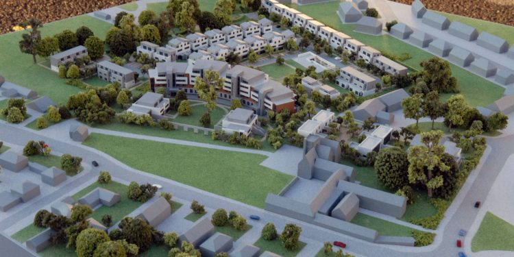Taylors Hill Housing Model, Galway