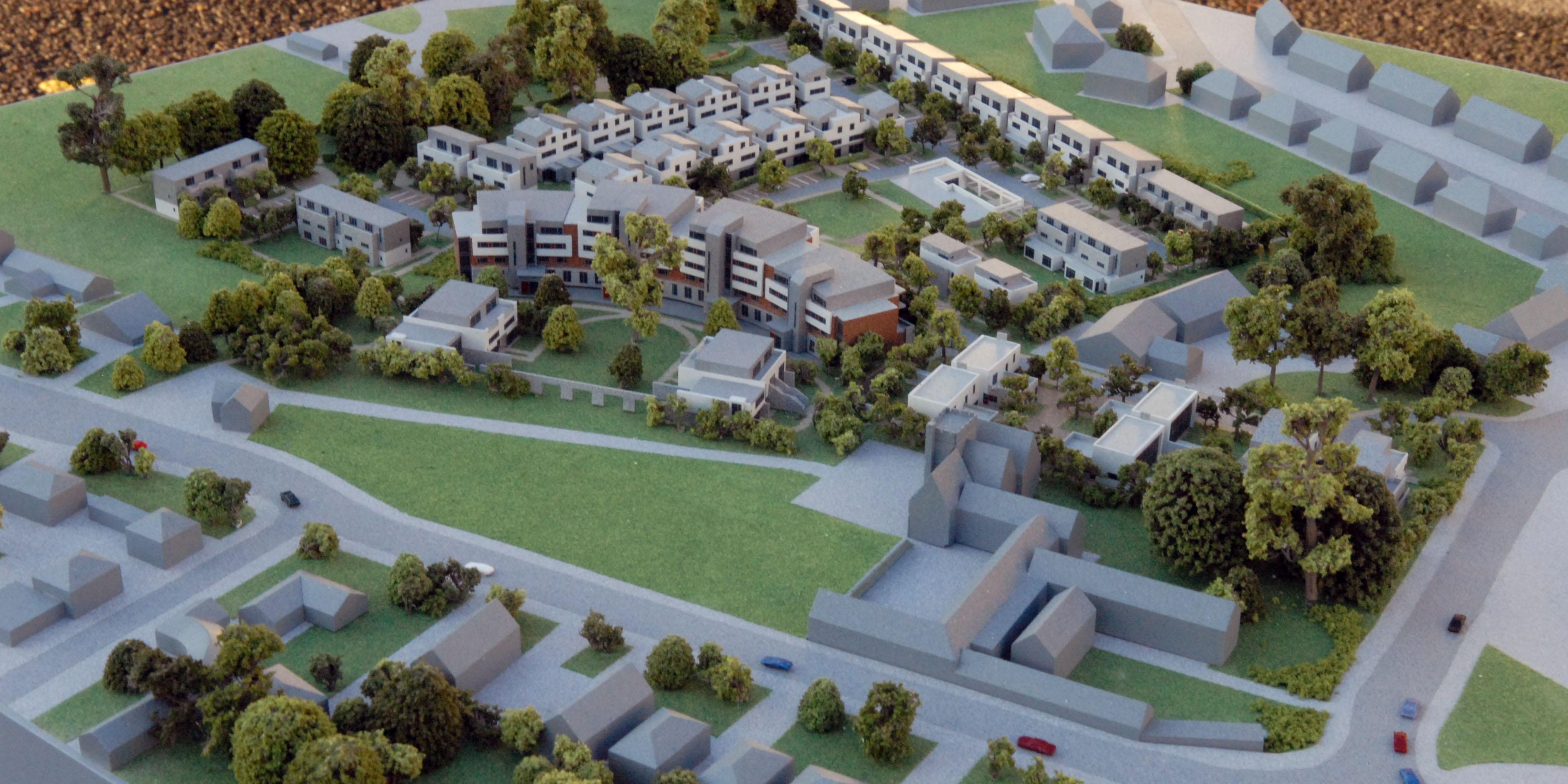 3d Blueprint Maker Taylors Hill Housing Model Galway Presentation Models