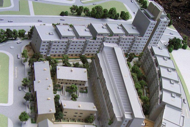 Stillorgan Leisureplex Scale Model