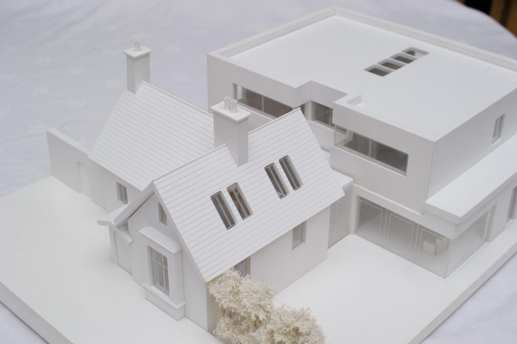 White house model exterior 1