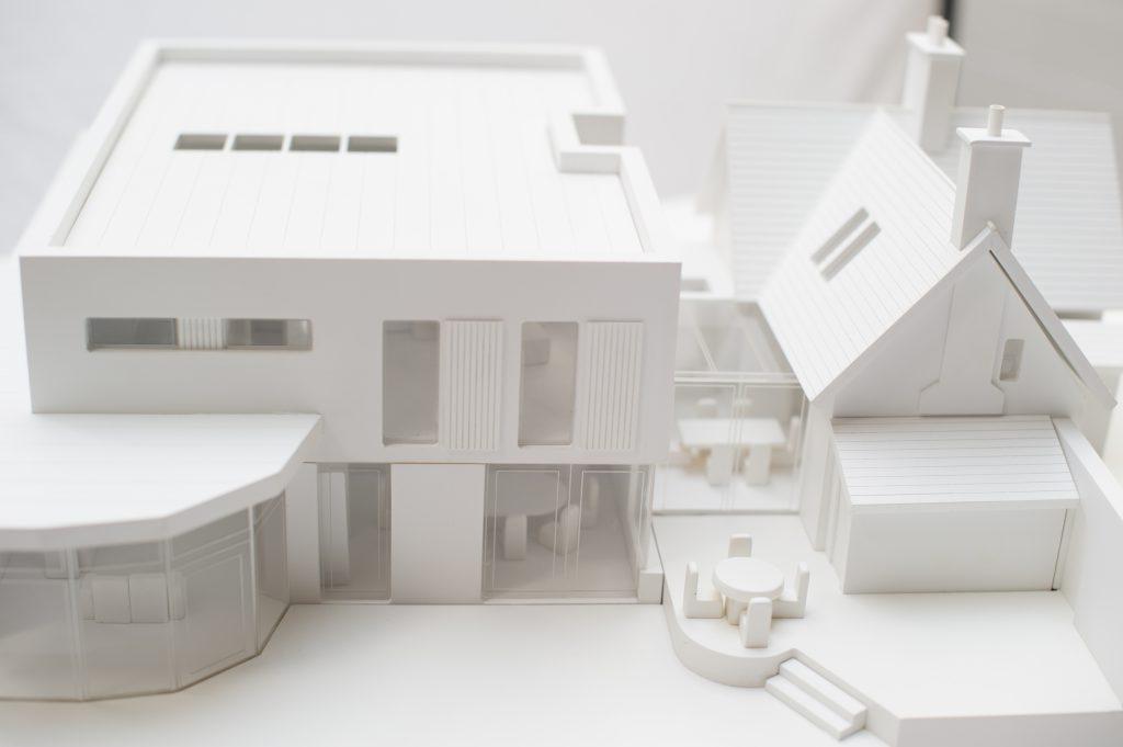 White house model exterior 2