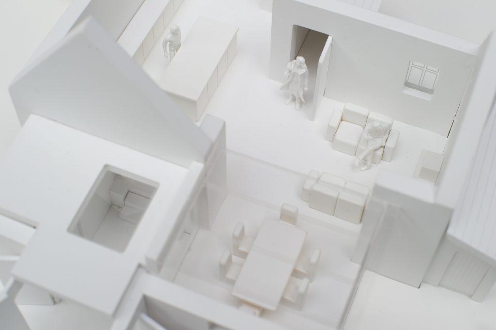 White house model exterior 3