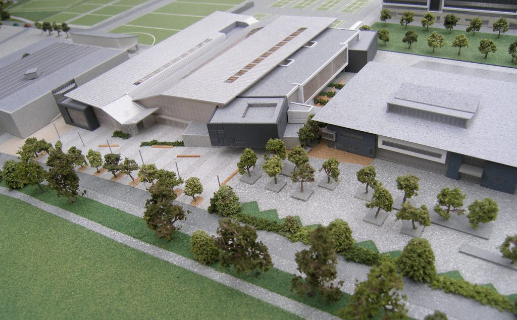 Model of UCD at 1:500 Scale
