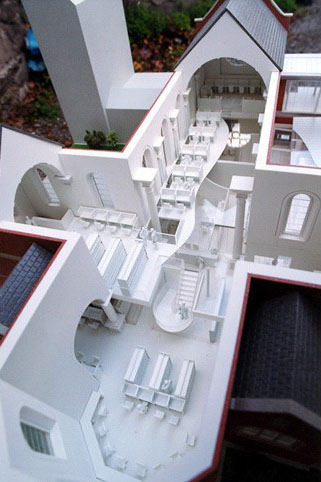 Smurfit -Carysfort-Library Model