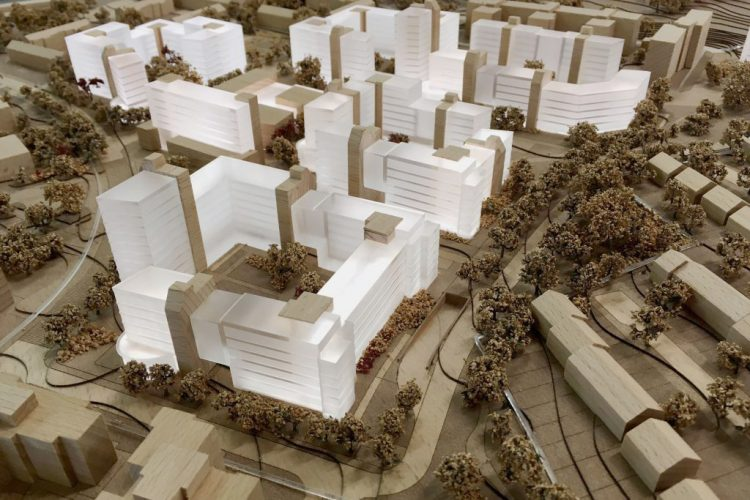UCD Student Residences Masterplan