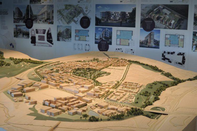 Cherrywood Masterplan Model