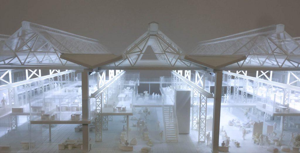 Berlin Interior Office Model