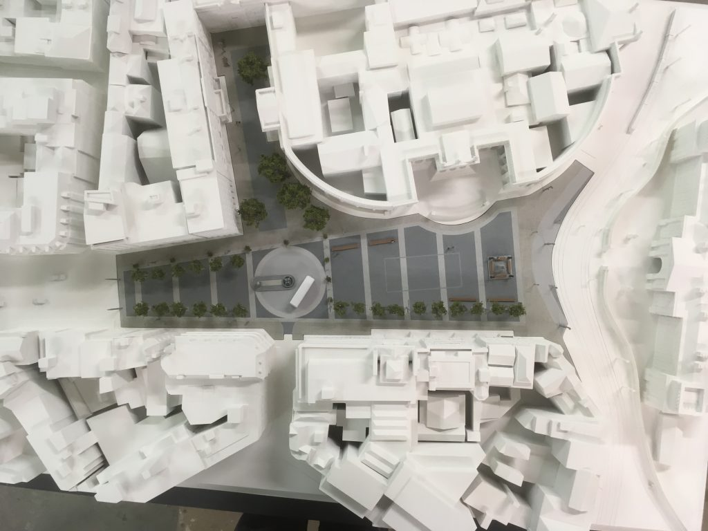 3D Printed Architectural Model of College Green